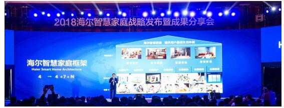 海尔独发全场景定制化智慧成套方案建成智慧家庭第一平台品牌