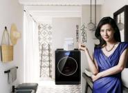 松下柜式洗衣机Cuble御铂系列  掀起时尚家居风