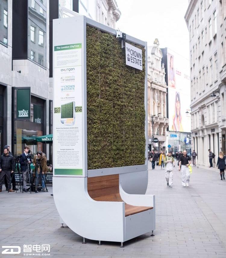 """智趣时代,一款可净化空气的""""椅子""""竟进入英国街头"""