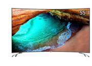 打造浓浓包裹感  55英寸4K曲面电视精彩看视界