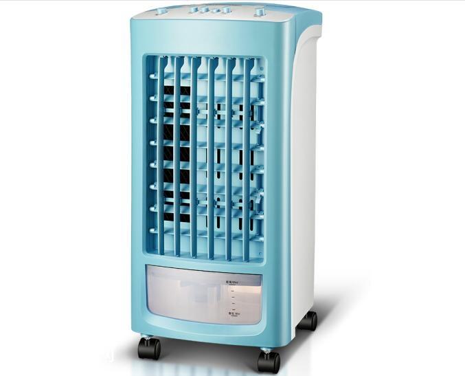 老人身体差 纳凉选择空调扇凉爽还安心