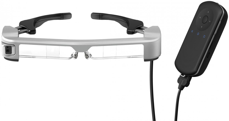 爱普生MOVERIO AR智能眼镜支持生物识别技术 增加交互性