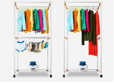 适用阴雨天用的平价干衣机 衣架式简易干衣机
