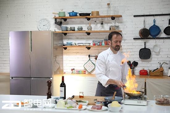 在全球10国御厨的厨房里都有一台卡萨帝冰箱