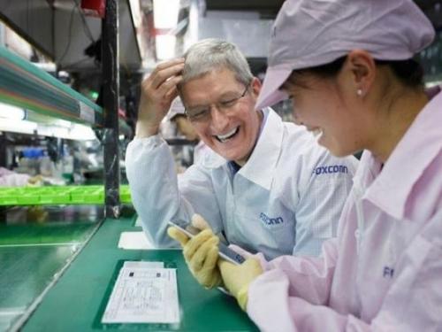 ▲富士康50%营收来自苹果