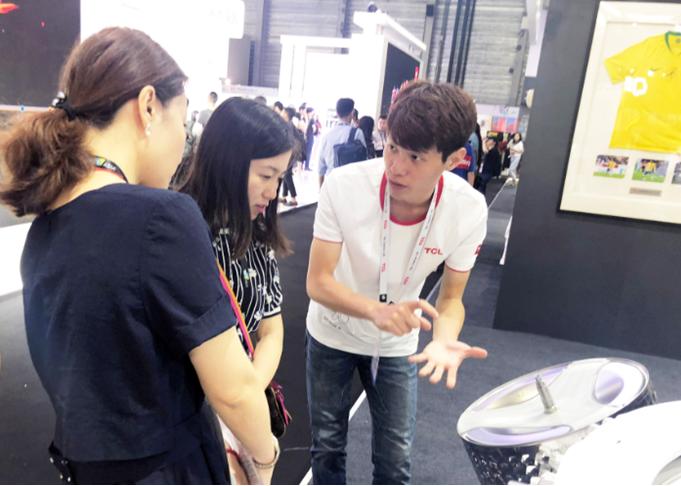 TCL冰箱洗衣机亮相2018 CES Asia 技术创新诠释智慧健康生活