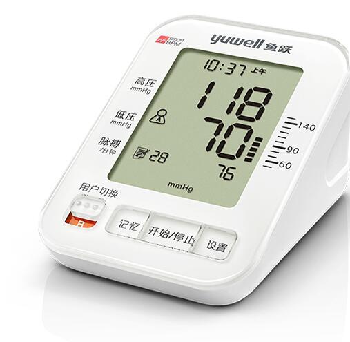 为爱减压 家中常备智能血压计
