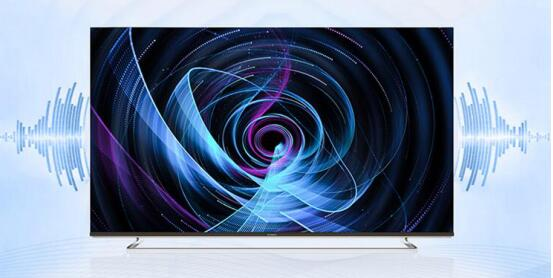 MAX TV悬浮屏系列55Q6A 薄到与iPhone手机一样