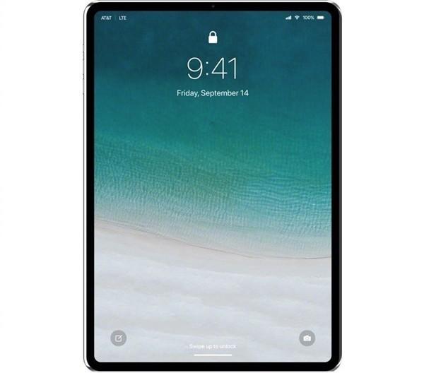 新一代iPad Pro渲染图曝光 比iPhone X顺眼多了
