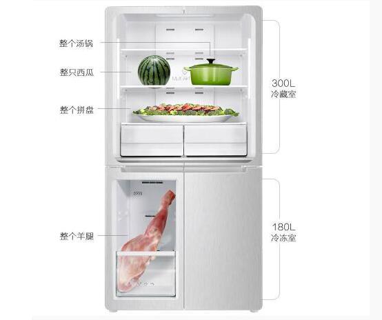 夏季食材保鲜注意多 TCL双变频十字对开多门冰箱助你新鲜健康度夏