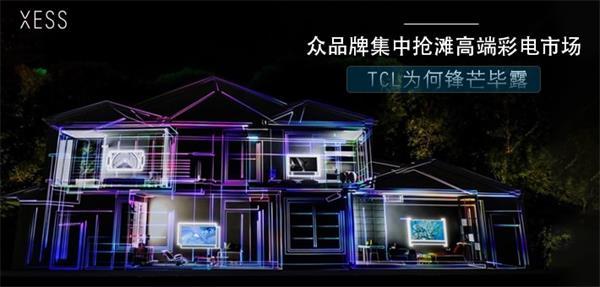 众品牌集中抢滩高端彩电市场 TCL为何锋芒毕露