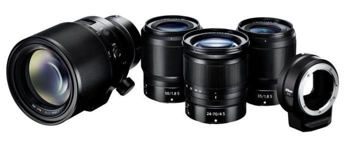大法不再寂寞 尼康发布两款全画幅微单相机
