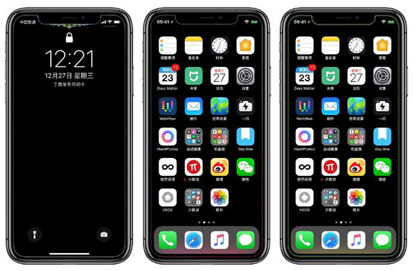 科技来电:使用黑色壁纸iPhone X能省电吗