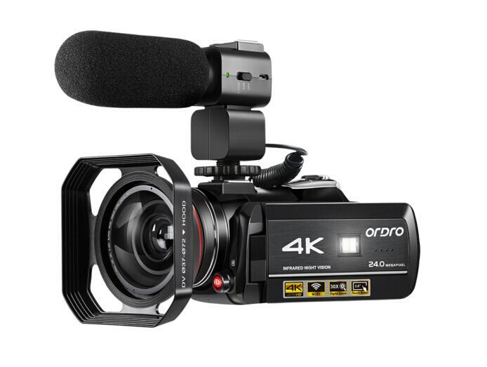 4K摄像机,幸福婚礼的忠实记录者