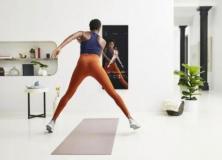 MIRROR智能镜面显示器让你在家专注锻炼健身