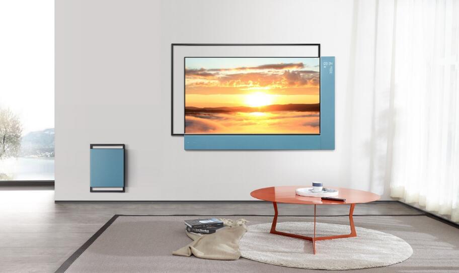 TCL创意出品  女神何穗携手XESS浮窗全场景TV倾情演绎视觉大片