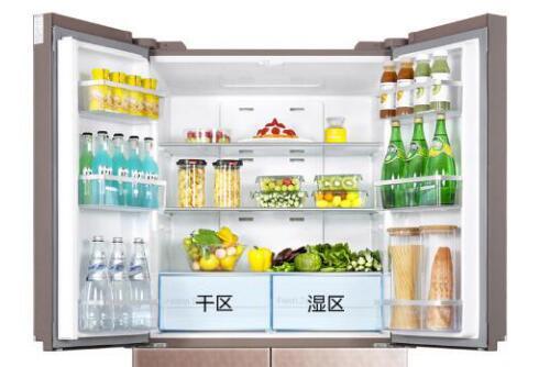 高颜值大容量冰箱怎么能少的了 TCL490十字对开门冰箱