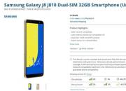 三星Galaxy J8美国开售 搭载骁龙450 售价不到2000!
