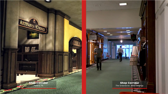 《辐射76》游戏场景对比 神舟邀你来看超高还原程度