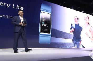 华为手环3 Pro发布:0.95英寸触摸彩屏