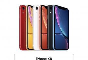 iPhone XR今天正式预售 安兔兔跑分持平iPhone XS
