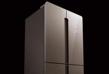 TCL490升变频风冷十字对开门冰箱 满足中式家庭储存需求