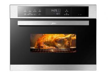 厨房革命,嵌入蒸烤箱一体机整洁省空间