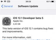 今日凌晨  iOS 12.1 的第五个 Beta 版本更新发布!