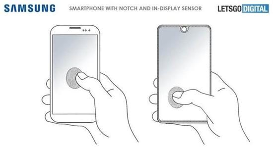 全屏幕感应解锁! 三星申请屏幕指纹技术专利