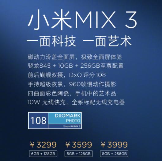 侃哥:苹果发布会或有新Mac亮相;小米MIX3正式发布