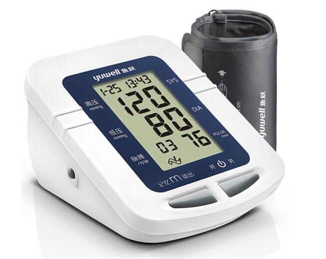 高清屏幕读数准,上臂式电子血压计