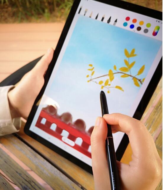 Galaxy Tab S4一本在手 采风写生不负秋光