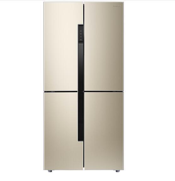400多升十字对开冰箱,横竖细储保鲜有玄机