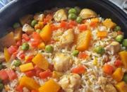 用电饭煲制作南瓜鸡肉饭  做出大厨的焖饭