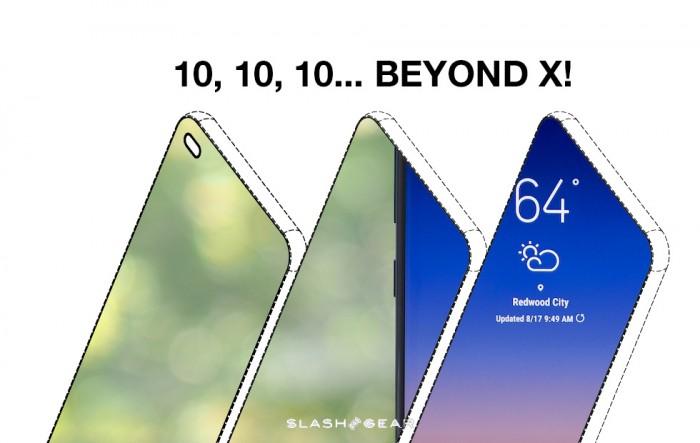 三星S10系列屏幕膜偷跑 带来真全面屏既视感