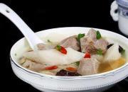 享受温暖冬季 有山药羊肉汤相伴