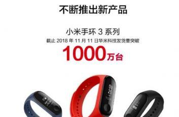 小米手环3销量破1000万台!华米公布最新财报:利润狂涨9成