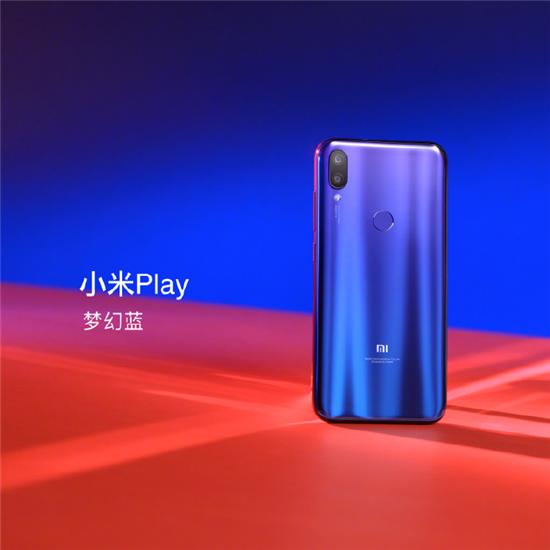 """小米play今日发布,自带""""流量""""售价仅为1099元"""