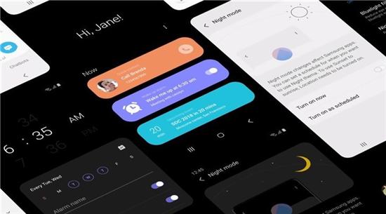 三星公布国行机型安卓9.0升级时间,将获得全新的One UI界面!