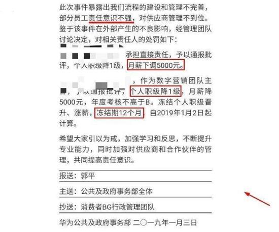 华为Twitter事件后续:已对当事人及主管做出相应处罚!