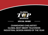 CES上不含糊 长虹ARTIST、激光等电视全拿了大奖