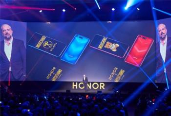 荣耀V20在法国巴黎发布,并推出MOSCHINO联合设计版!