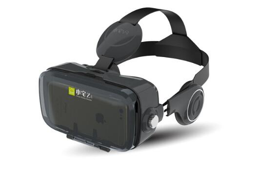 潮玩智能VR眼镜3D头盔,3D巨屏帷幕的海市蜃楼