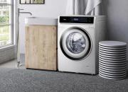 TCL10公斤滚筒洗衣机 大件衣物也能轻松洗涤
