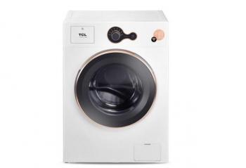 TCL全自动滚筒洗衣机轻奢版 贴心洗衣好管家