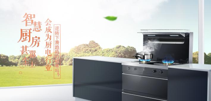 智慧厨房甚嚣尘上 会成为厨电行业逆转下滑趋势的稻草吗?