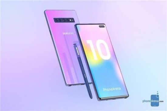 三星 Note 10配置又曝光,有望全系将支持5G!