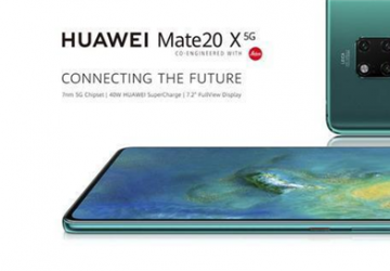 科技来电:华为在英国发布华为Mate 20 X 5G版!