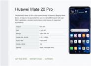 华为Mate 20 Pro重回首批Android Q Beta版机型名单!