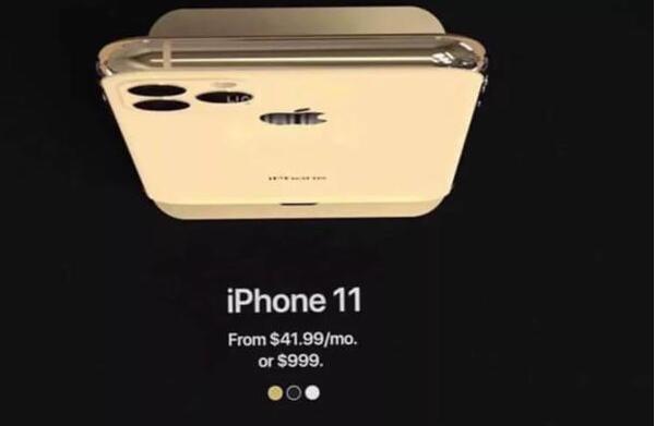 iPhone 11国行售价曝光8899元起,9.12号举行发布会